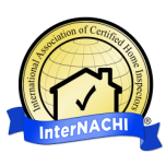 Internachi Blue and Gold Logo