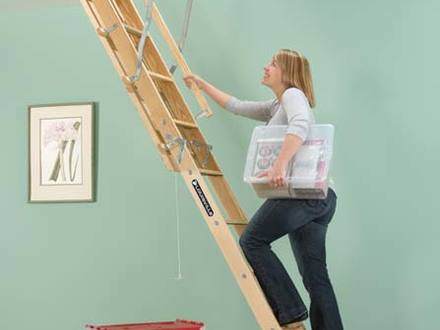 Safety First Attic Pull Down Ladders Hero Home Inspection